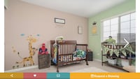 Toddler Bed and Changing Table