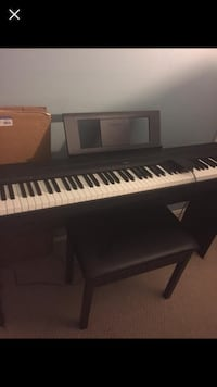 Yamaha P-45 88-Key Weighted Action Digital Piano Package Sayville, 11782