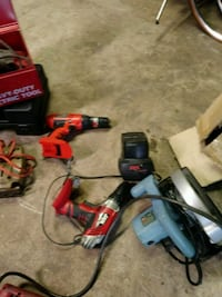 red and black Milwaukee cordless power drill Baltimore, 21230