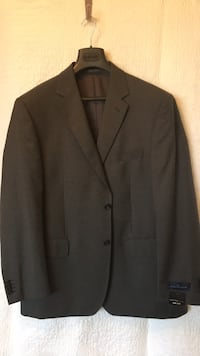 black notch lapel suit jacket Washington, 20024