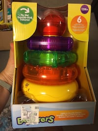 Light up stacking rings toy. Unused