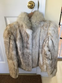 Real rabbit fur coat (size small) North Whitehall, 18078