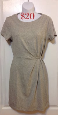 FOREVER 21 Grey Dress: Size XS/S