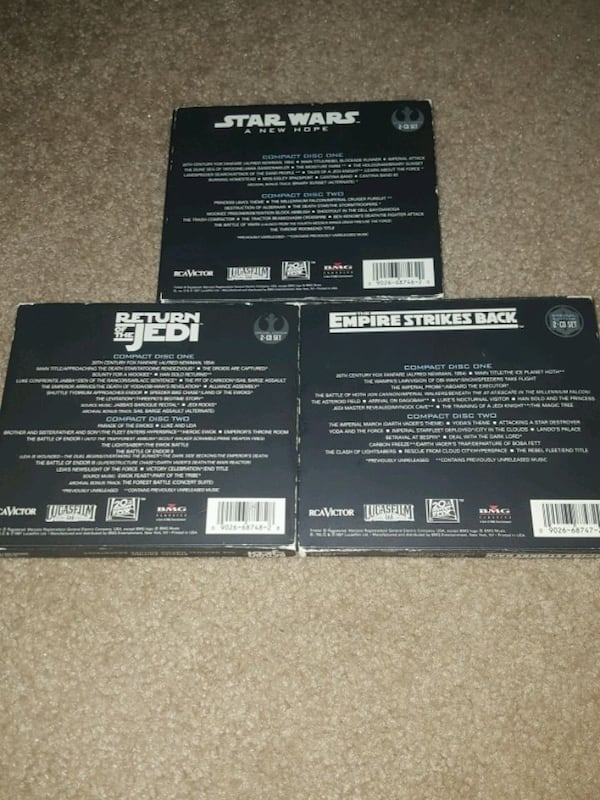 Star Wars CD Soundtrack Special Edition Collection e53cb277-4824-4b6d-8b52-843b580070f1