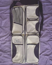 Portable Bassinet Crib, Changing Station, and Diaper Bag