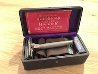 Auto-Strop safety Razor Vintage Metal Rare Antique  Manassas, 20112