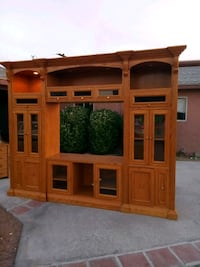 Taylor Solid Wood Entertainment Wall Unit Las Vegas, 89104