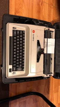 white and black Brother typewriter Oakville, L6H 6C5