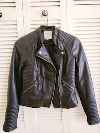 Faux leather Zara jacket Toronto, M5T 2W7