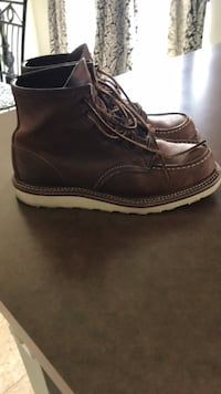 Pair of Brown Moc Red Wing boots. Awesome condition  Fort Worth, 76179