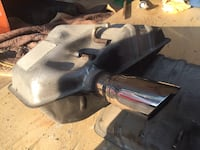 Two 2012 Camero mufflers 100 miles changed to custom exhaust $45  pair Pickering, L1V 1T4