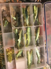 Fishing lures 1.00 each. Knoxville, 37932