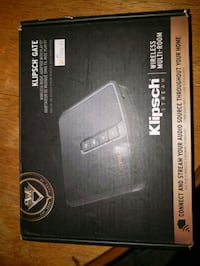 Brand New Klipsch Gate Wireless music adapter with play-fi. Never used Grande Prairie, T8V 5G8