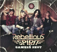 Rebellious Spirit - Gamble Shot pre-owned cd in excellent condition Pick-up in Newmarket, Ontario Newmarket