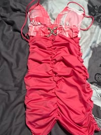 Pink and white dress   Calgary, T2L 0Z2