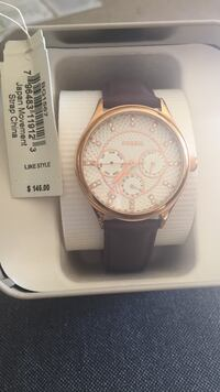 FOSSIL  Brown Leather strap for Women Annandale, 22003