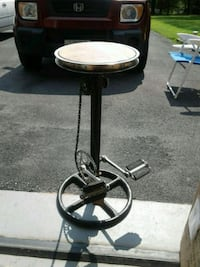 Barrel Shack new pedal stool at my garage store  Burtonsville, 20866