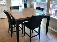 Dinner / dining square table & 4 chairs San Antonio, 78250
