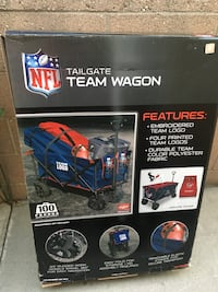 New NFL Team Foldable Wagon Paramount, 90723