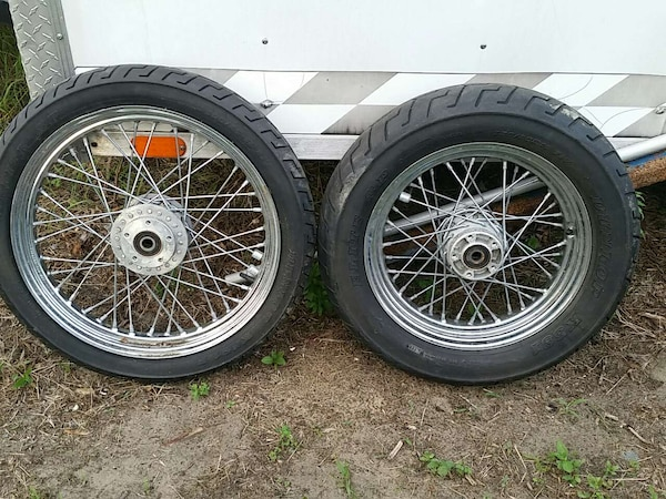 Used Harley Davidson Wheels >> Used Harley Davidson Rims And Tires For Sale In Keansburg Letgo