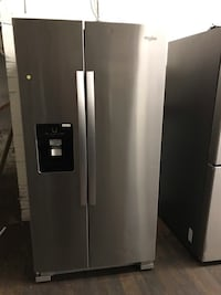stainless steel side by side refrigerator with dispenser Allentown, 18102