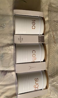 Elle three piece canister  New York, 11207