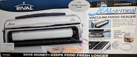 Rival Seal-a-Meal Vacuum Food Sealer, chrome finish Washington