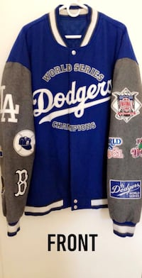 LA Dodgers Varsity Letterman Jacket