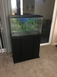 Aquarium with stand 15 km