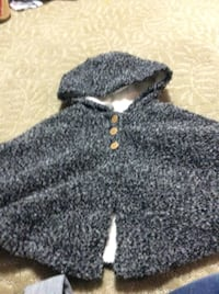 JUST REDUCED grey cape 24 m