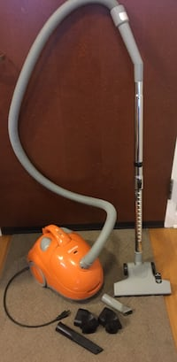Hoover Orange Portable Bagged Canister Vacuum Cleaner Chicago, 60601