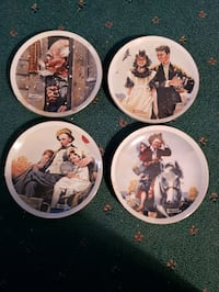 Norman Rockwell collector plates Brownstown Charter Township, 48183