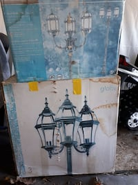 outdoor  post lanterns  made by Catalina lighting Innisfil, L9S 1V4