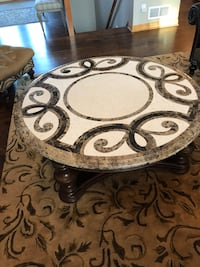 Brown and black wooden table North Oaks, 55127
