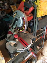 gray and red miter saw Herndon, 20170