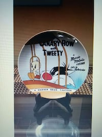 Looney Tunes Canary Row Collector Plate