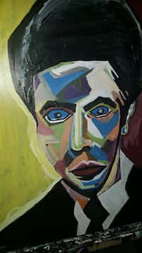 Micheal corleone abstract painting  Gainesville, 32653