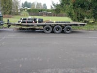 $2000 OBO Triple axle equipment hauler Forest Grove, 97116