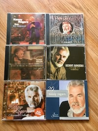 Kenny Rogers Music CD Collection 8 CDs