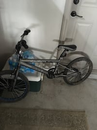black and blue BMX bike Vaughan, L6A 3Z2