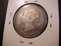 1900 Newfoundland 50 Cent Piece LONDON
