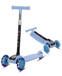 Kids Kick Scooter 3 Wheel Foldable Scooter for Toddlers Girls & Boys