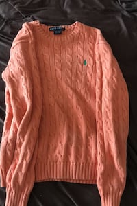Polo knitted sweater