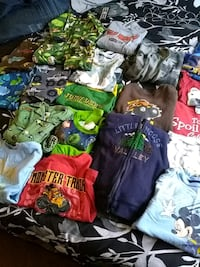 Toddler boys clothes size 2t and 3t Indianapolis, 46219