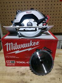 Milwaukee circular saw m18 Vaughan, L6A 1Y7