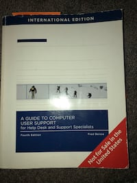 A guide to computer user support (Fourth Edition) Annandale, 22003