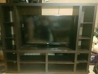 Wall unit brown wooden entertainme Vaughan, L4K 1G9