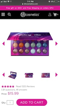New Galaxy Chic Palette Brampton, L6W