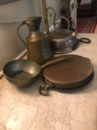 Copper pans Hickory