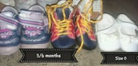 3/6month and size 0 infant shoes  Layton, 84041